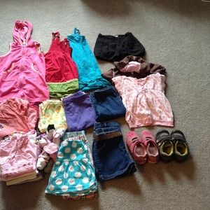 Other - 5T girl summer clothes bundles